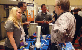 Uponor's booth during the Product Fair
