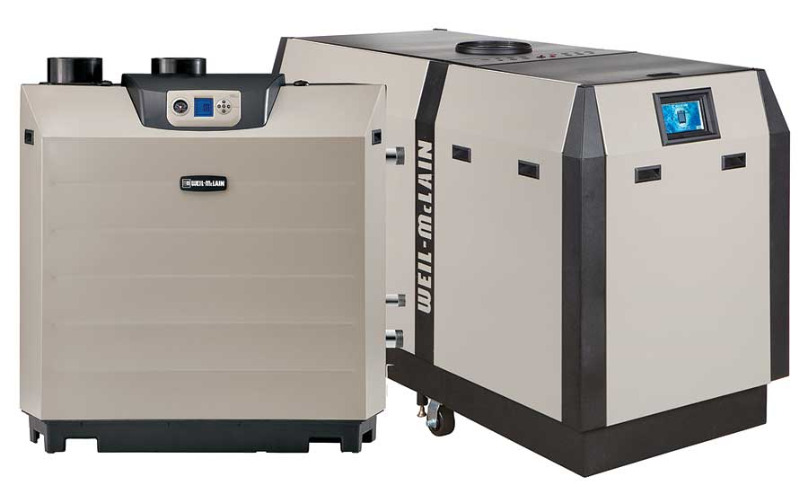Commercial condensing gas boiler from Weil-McLain | 2015-11-20 | PM ...