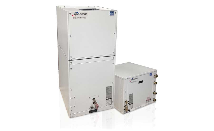 Geothermal heat pump series from Modine