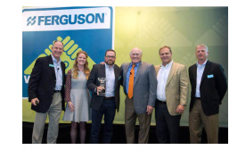 American Standard is the winner of the 2015 Ferguson Showroom Plumbing Vendor of the Year Award.