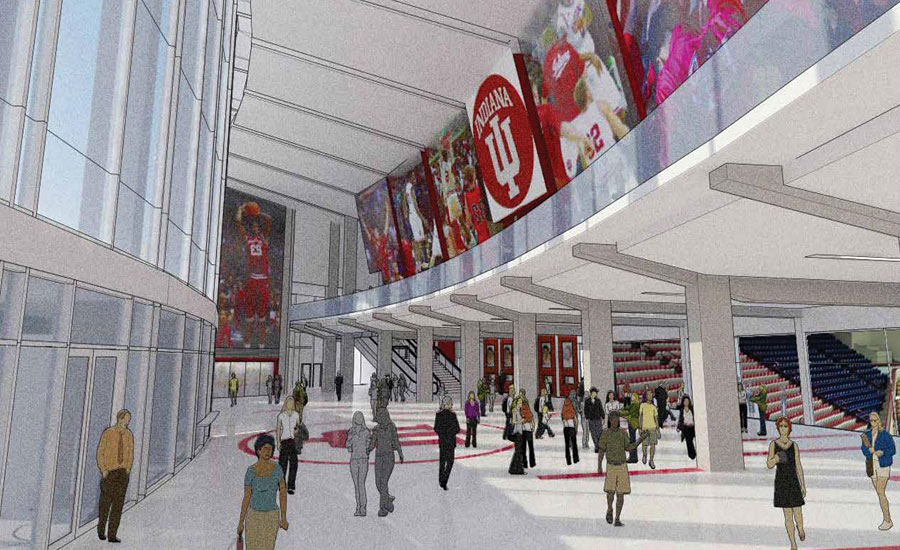 Assembly Hall Inside Rendering