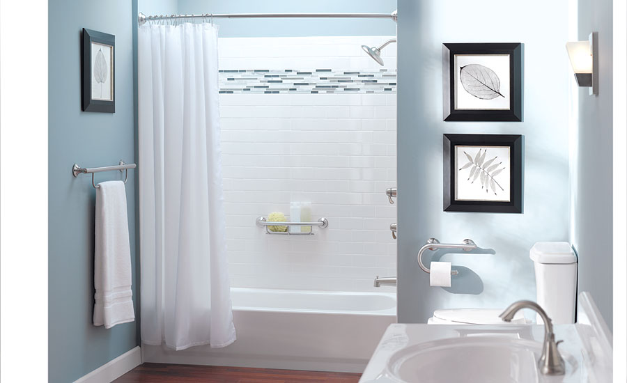 Moen's Designer Grab Bars with Accessories Collection