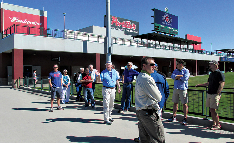 Cubs' Spring Training Opening Day