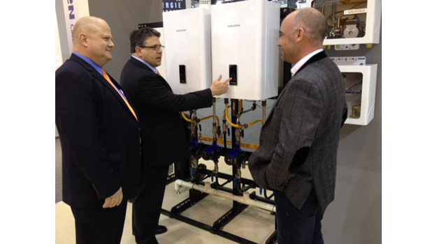 Navien discusses the company�¢??s wall-hung boilers