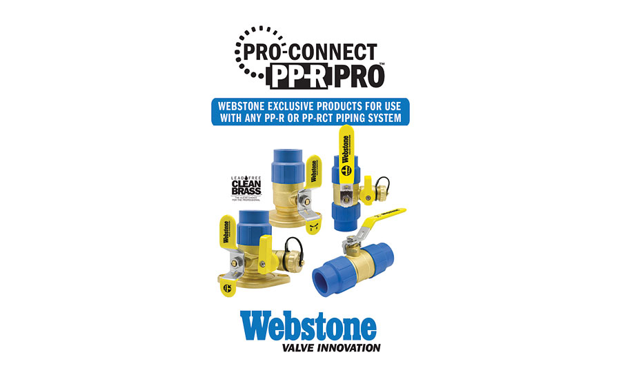Enhanced valve line from Webstone Valves