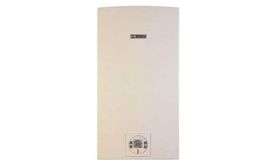 Condensing tankless water heaters from Bosch