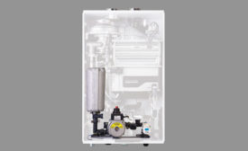 Condensing tankless water heaters from Navien