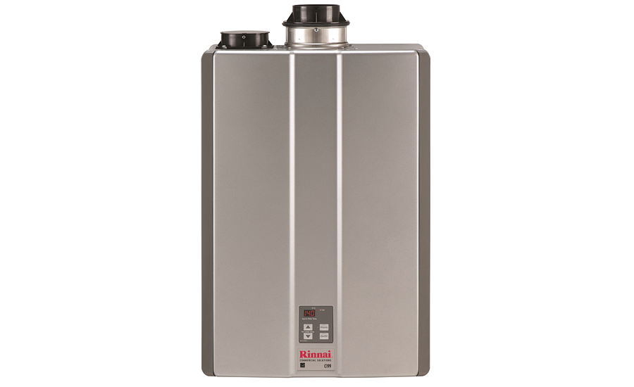 Commercial tankless water heater from Rinnai