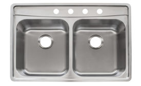Quick install sink system from Franke
