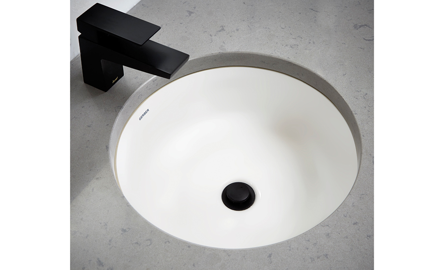 Undercounter sinks from Gerber