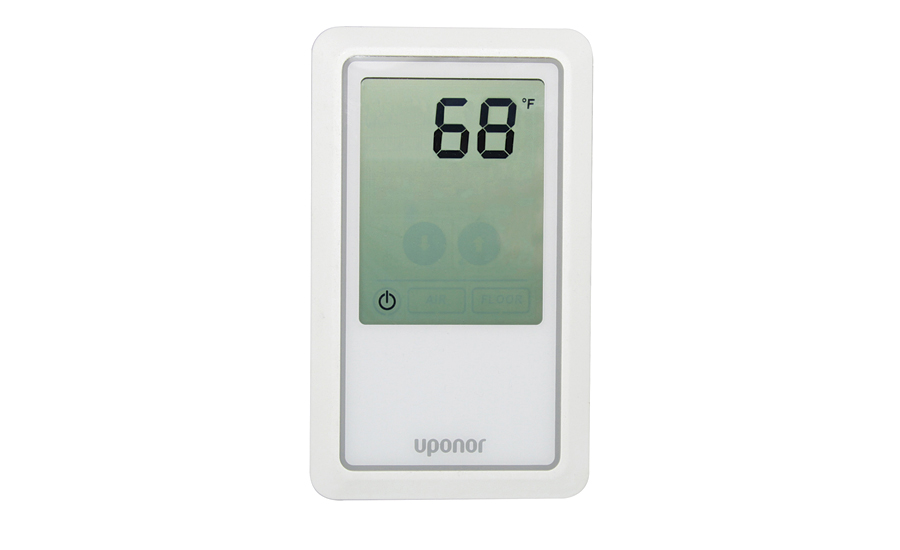 Thermostat for radiant heating applications from Uponor