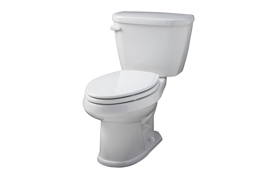 Compact elongated toilet from Gerber
