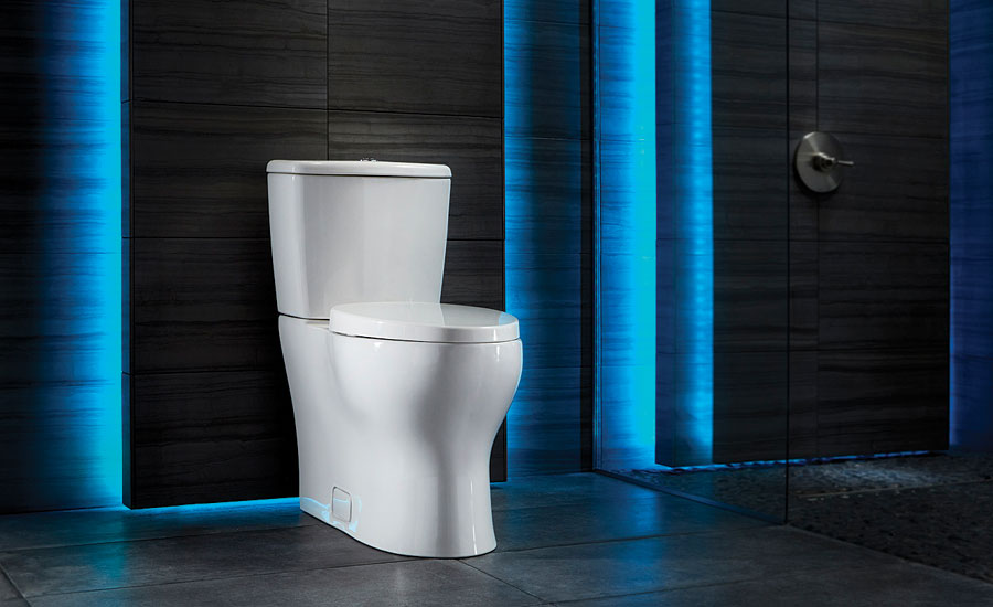 Single-flush high-efficiency toilet from Niagara