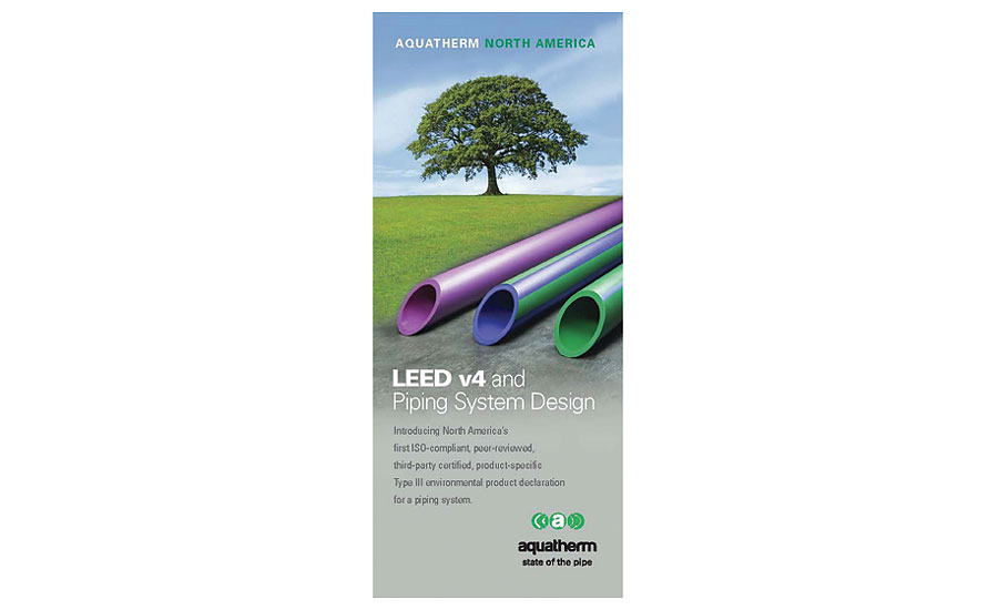 Value in LEED v4 from Aquatherm