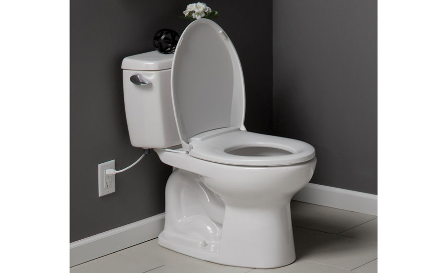 Heated toilet seat from Bemis