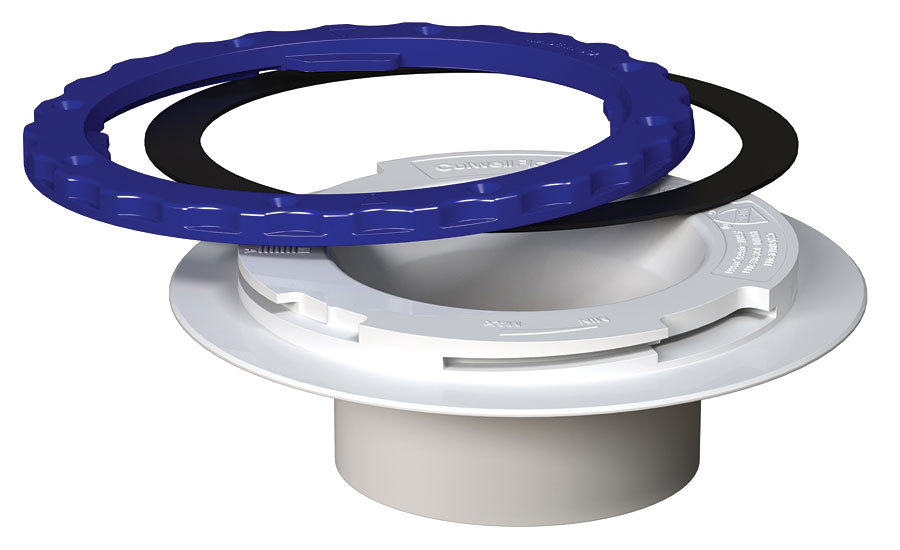 Toilet flange from Culwell Flange