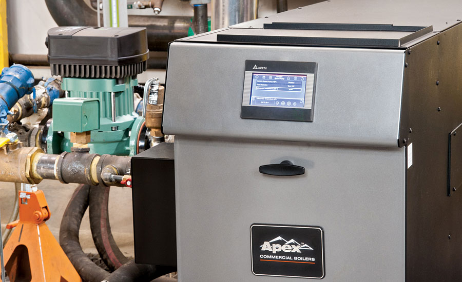 The Apex commercial boiler and the Eco-Propel circulator were developed through a joint partnership