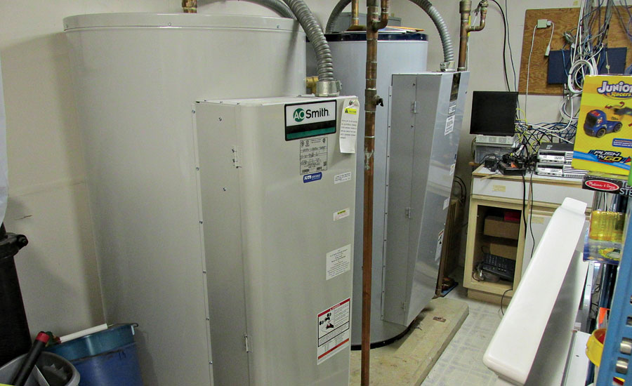 119-gallon Gold Series DRE electric water heater