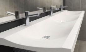 Multi-user lavatory from Bradley