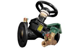 Globe-style balancing valve from Jomar Valve