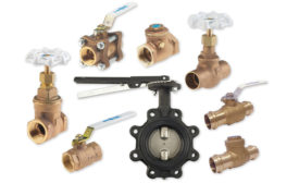 Commercial lead-free press-end valves from Milwaukee Valve