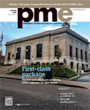 pme Januray 2016 cover: First Class Package, Historic post office receives plumbing, HVAC upgrades