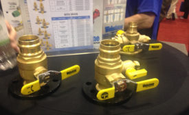 Webstone Valves introduced its new, innovative The Isolator valve at the 2016 AHR Expo in Orlando, Fla.