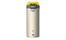 Commercial gas water heater from A. O. Smith; Energy Star