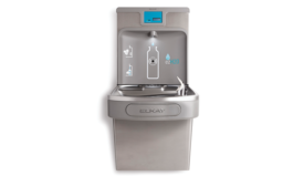 Self-diagnostic features for Elkay's bottle-filling station; energy efficient