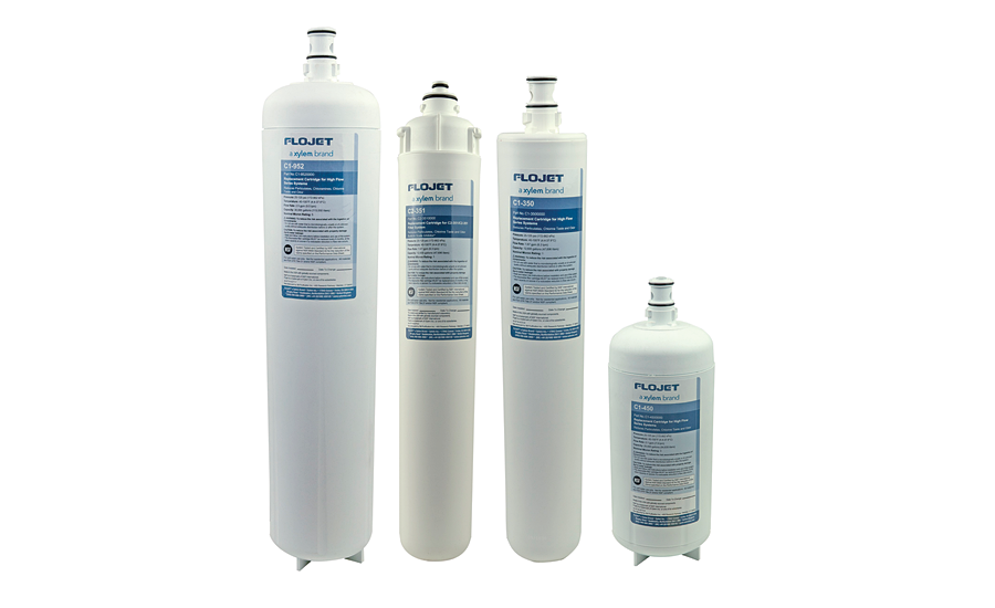 Water filtration system from Flojet