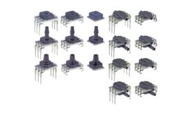 Amplified digital pressure sensor from Honeywell; mechanical engineer