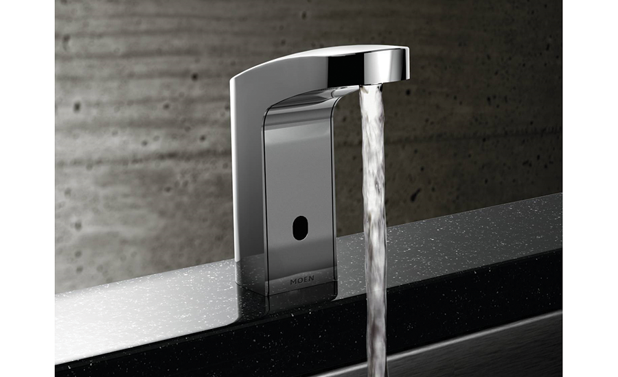 Sensor-operated faucets from Moen Commerical