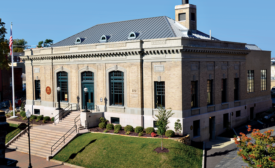The St. Charles Historic post office in St. Charles, Mo.
