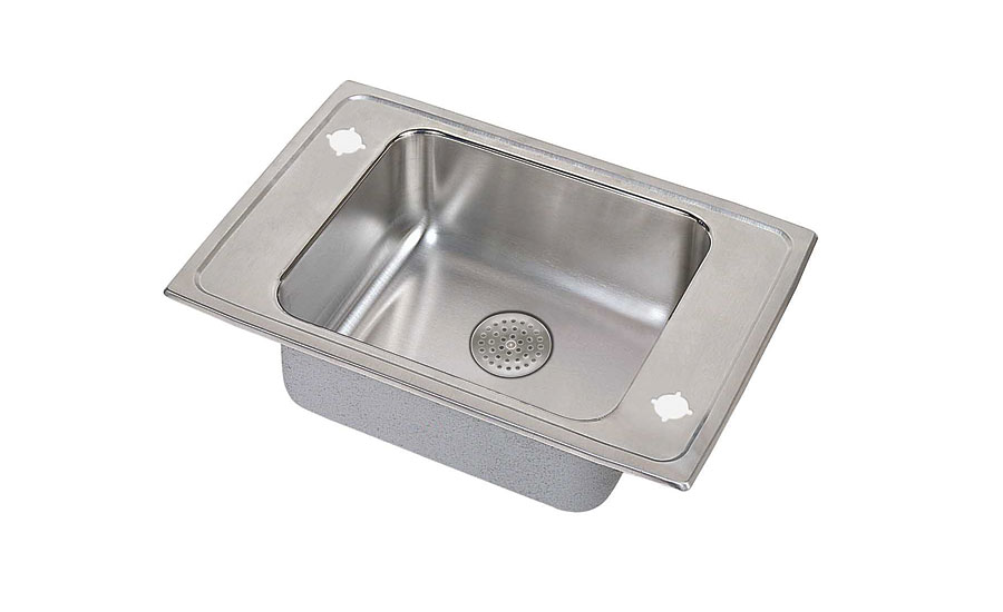 Classroom sink drain from Elkay