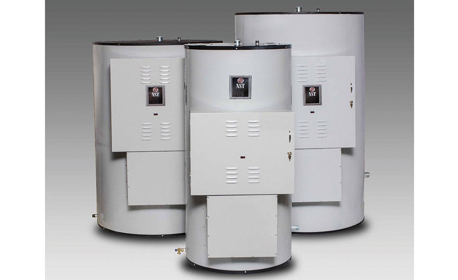 Vertical electric water heater from Niles Steel Tank