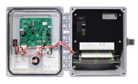 Data-logging control panel