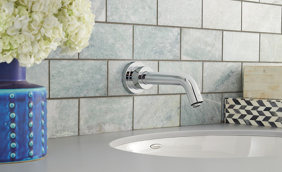High-end commercial sensor faucets from American Standard