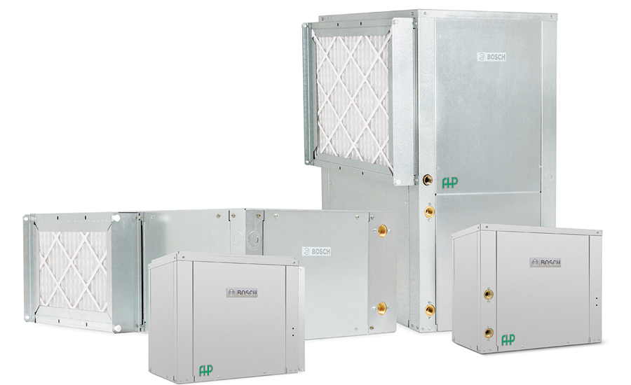 Bosch Thermotechnology's split system heat pumps; AHR Expo, Legend Valve, Uponor, Powers, Bosch Thermotechnology, Victaulic, Johnson Controls, Armstrong Fluid Technology