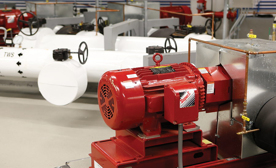 Bell & Gossett pump; hydronic systems, hydronic cooling, LEED, energy efficient