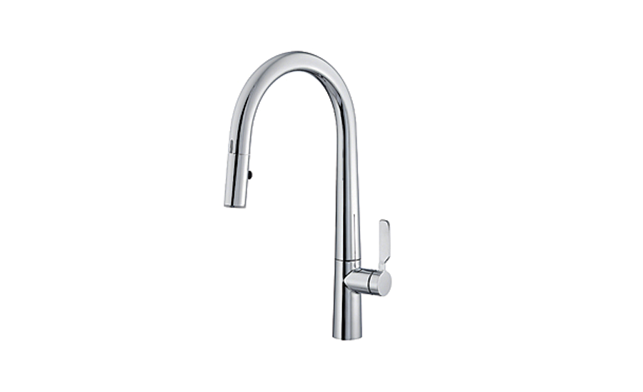 Danze's Did-U-Wave digital kitchen faucet; water savings, high efficiency plumbing products, toilet, faucet, boiler