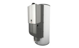 Commercial hybrid system from Rinnai