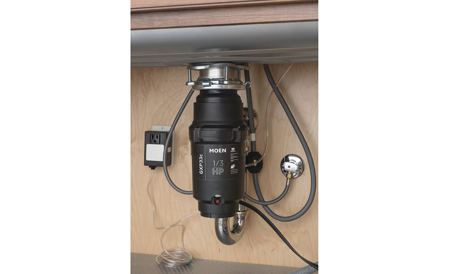 Permanent magnet motor disposer from Moen