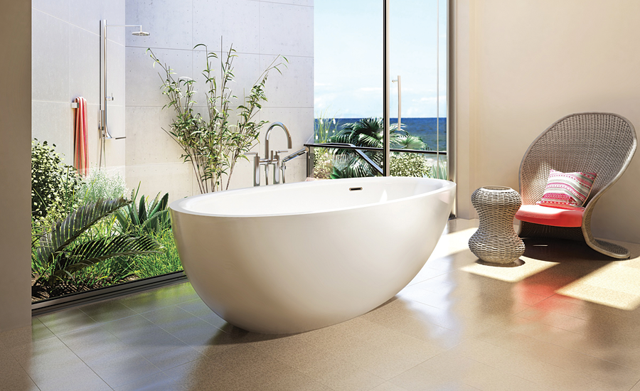Freestanding bath from BainUltra