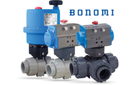 Electric and pneumatic actuation from Bonomi