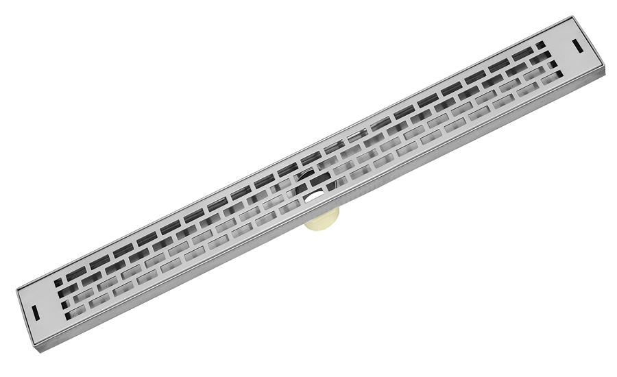 Linear drain from LUXE