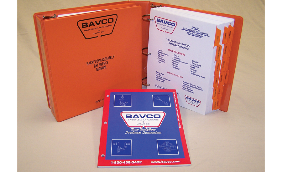 Reference manual from BAVCO