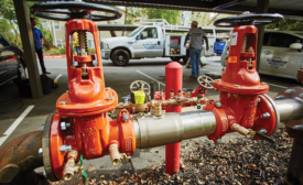 Retrofitting backflow preventers from Watts