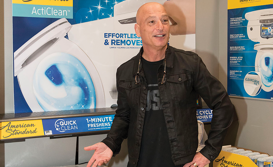 Comedian and television host Howie Mandel