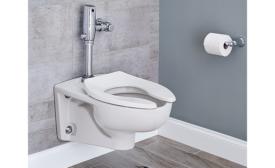 American Standard's WaterSense-certified Afwall flushometer