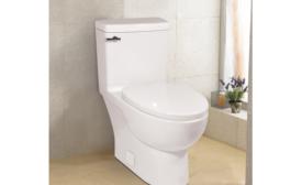 Space-savvy toilet